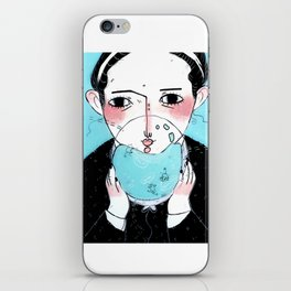 Bubble Thoughts iPhone Skin