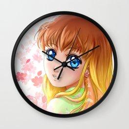 Le voyage de Hana Wall Clock