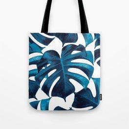 Tropical Monstera Leaves Dream #8 #tropical #decor #art #society6 Tote Bag