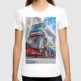Rainbow Bus Pride In London T-shirt