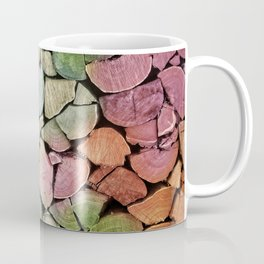 colorful wood Coffee Mug