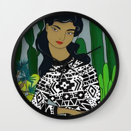 She will tell the story Wall Clock