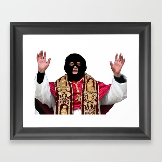 Holy Crap Framed Art Print