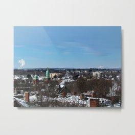 Mt. Washington from Portland (1) Metal Print