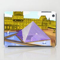 bonjour iPad Cases featuring Bonjour by Hola Vicky