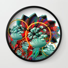 The Queen's Garden Wall Clock