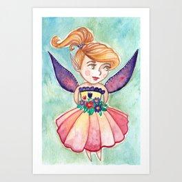 Merry Fairy Art Print