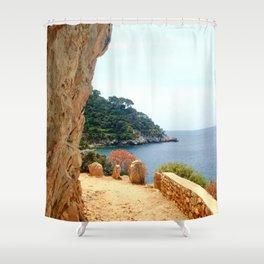 Life Journey Shower Curtain