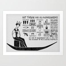 allaboardshoops! Art Print