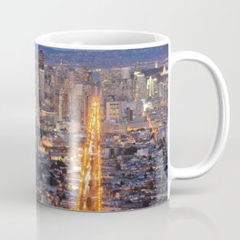 Thwin Pheaks San Francisco Cityscape California USA Ultra HD Coffee Mug