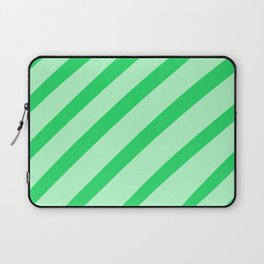 Leaf Stripes Laptop Sleeve