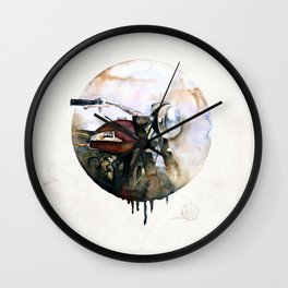 Norton Atlas Wall Clock