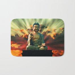 Buddha Sunrise Bath Mat