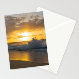 Beautiful Ocean Sunset Stationery Cards