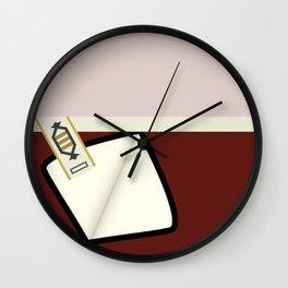 Kirk - TMP -Open - Minimalist Star Trek TMP - James T Kirk - startrek trektangles Wrath of Khan 1701 Wall Clock