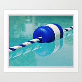 Color Theory, Blue Art Print