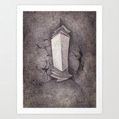 Life's Paperwork Art Print