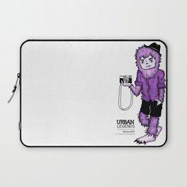 Sasquatch by Sarah Pinc Laptop Sleeve