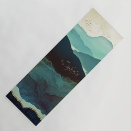 Indigo Mountains Yoga Mat