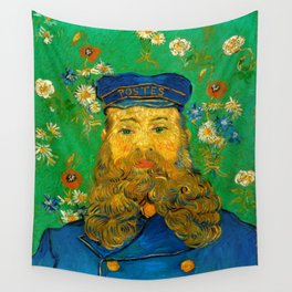 "Vincent van Gogh ""Portrait of Joseph Roulin"" Wall Tapestry"