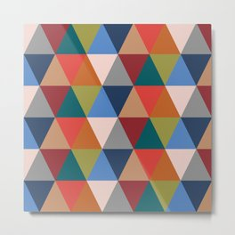 Geometric No.2 Metal Print