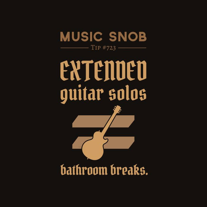 Solos = DON'T GO-s! — Music Snob Tip #723 Duvet Cover