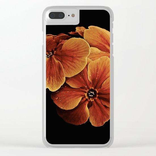 Primrose Posy Clear iPhone Case