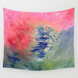 Abstract Perfect Storm by Robert S. Lee Wall Tapestry