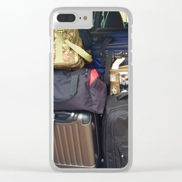 Traveling Heavy Clear iPhone Case