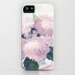 Hydrangea 2 iPhone Case