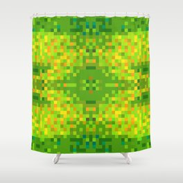 Gif Glitch Tapestry - 01 Shower Curtain