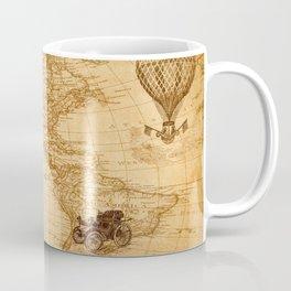 Vintage Map of America Coffee Mug