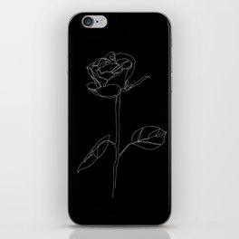 White Rose iPhone Skin