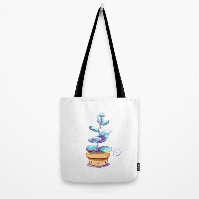 Cute succulent Tote Bag