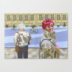 Passers (Passants) Canvas Print