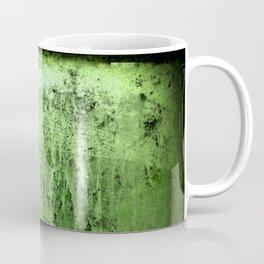 Old green window at night Coffee Mug