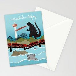 YYCFlood Stationery Cards