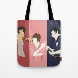 Samurai Champloo Silhouettes Tote Bag