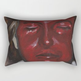 Anger Rectangular Pillow