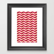 Zigzag Framed Art Print