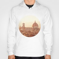 florence Hoodies featuring Florence Cathedral by happeemonkee