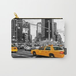 NYC Yellow Cabs Flat Iron Building Carry-All Pouch