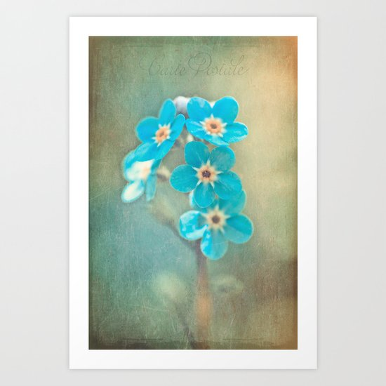 tiny treasures Art Print