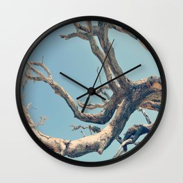 Driftwood Ladder Wall Clock