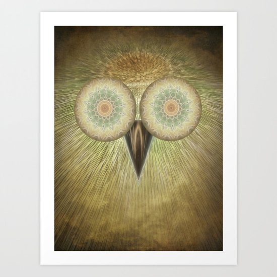 The Owl Art Print