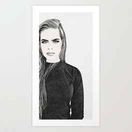 Captivated Art Print