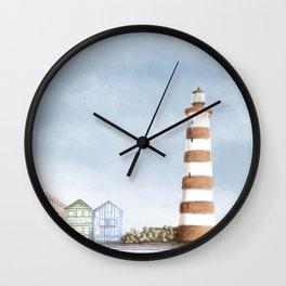 Aveiro landscape Wall Clock