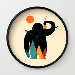 PaPa Wall Clock