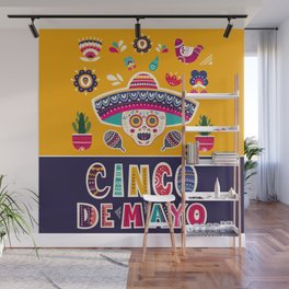 Cinco de Mayo – Scull Wall Mural