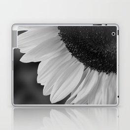 Black and White Sunflower Photography Print Laptop & iPad Skin